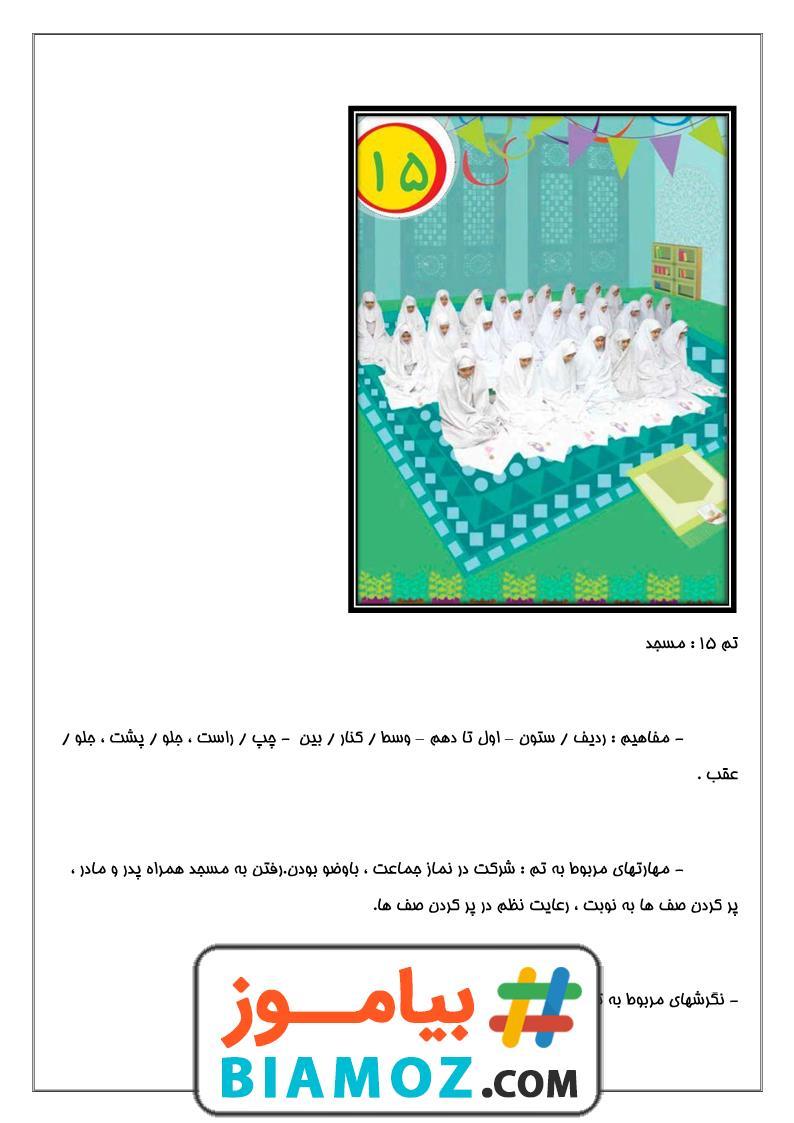 جزوه تم 15 ریاضی (سری1) — اول دبستان